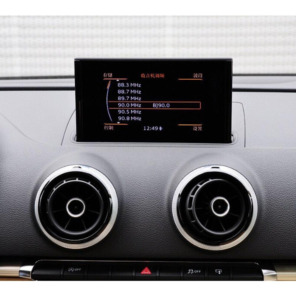 Y compris la Sauvegarde Caméra! voiture Vidéo Interface Avec IPAS Smart Parking Lignes Directrices Pour AUDI A3 8 V