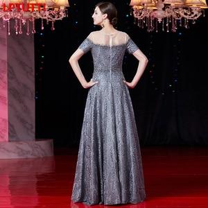 Image 2 - LPTUTTI cristal bordado nuevo para las mujeres elegante fecha ceremonia fiesta vestido Formal de Gala de lujo vestidos de noche