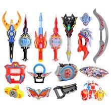 Obu ultraman converter childrens light toy galaxy superman saint sword Ultraman Geed  sensor weapon set Gifts for children