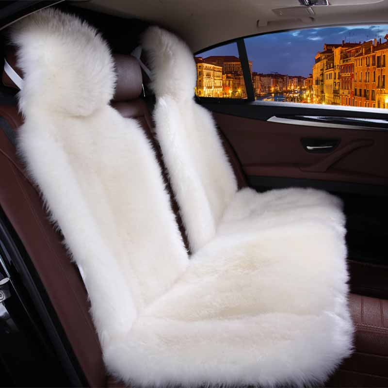 Car Interior Accessories Car Seat Covers Sheepskin Cushion