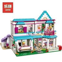 lepin Friends 01014 Good Girl the Romantic Doll House Model Set Building Blocks Compatible 41314 Legoinglys Friends Kids Toy