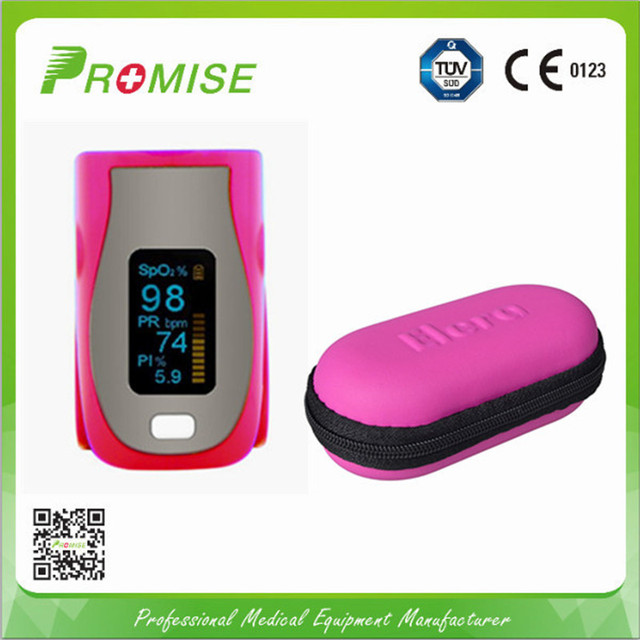 New digital oximeter SPO2 PI PR saturation monitor OLED display fingertip pulse oximeter portable pulsioximetro with case