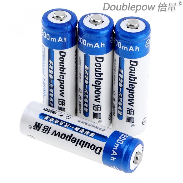 4pcs AA Ni-MH Rechargeable battery 1200mAh 1.2V Batteries LSD with 1200 Cycle