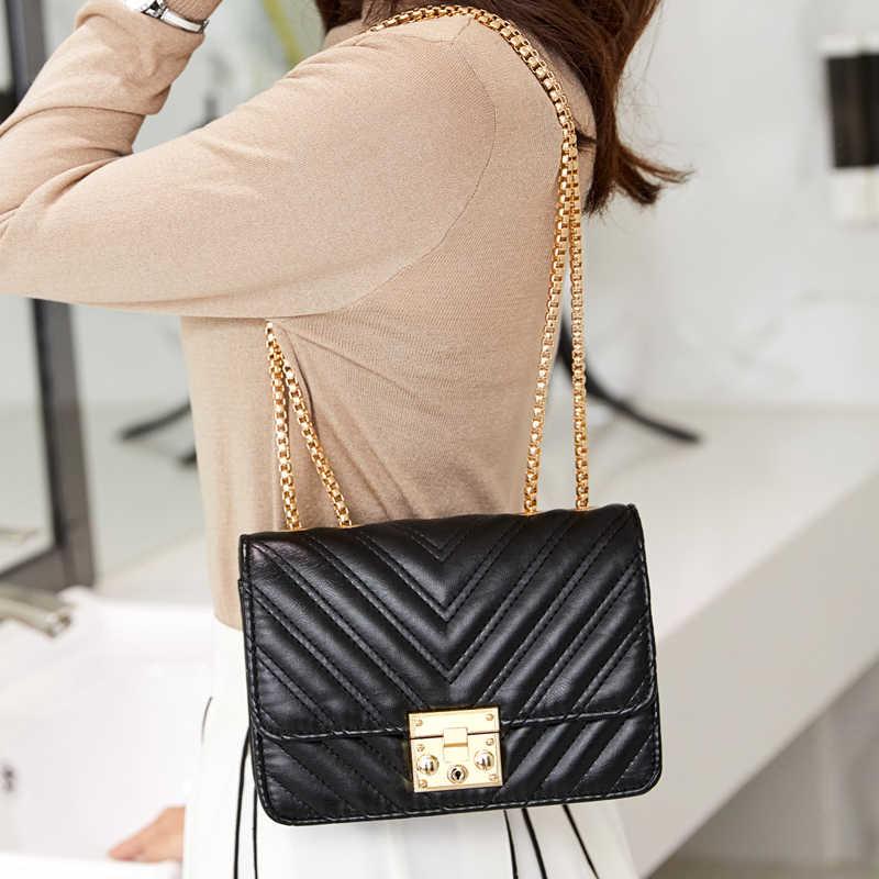 Ankareeda дизайнерская сумка на плечо с цепочкой женские сумки, лидер продаж женские Сумки из искусственной кожи сумка-мессенджер клатч Сумки bolso mujer кошелек