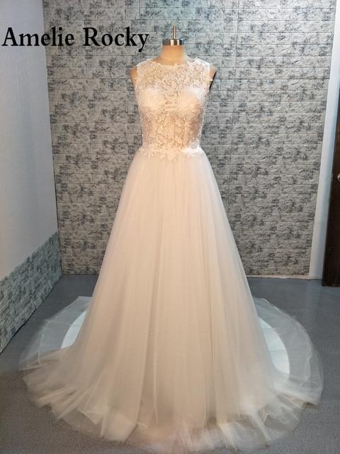 c46a3d2051 A-line Retro Vintage Wedding Dresses Turkey Applique Lace Boho Chic Wedding  Dress Simple Wedding Gowns