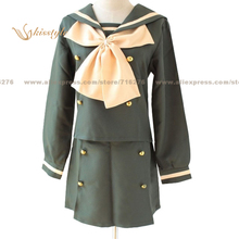 Kisstyle Fashion Shakugan no Shana School Uniform Cosplay Clothing Cos Costume,Customized Accepted