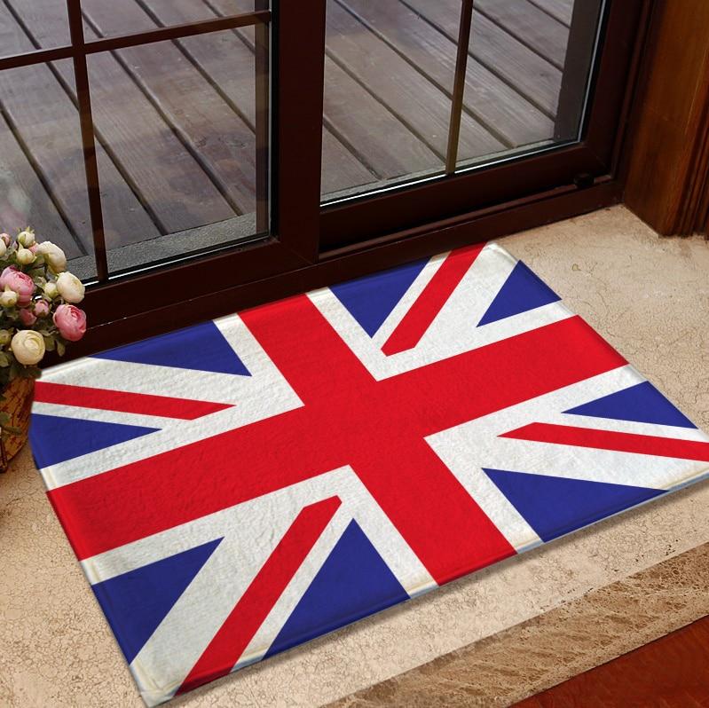 Aliexpress.com : Buy Bathroom Accessory Set Acrylic Carpet American Flag  Rug British Union Jack Doormat Bedroom Living Room Carpet Floor Mats From  Reliable ...