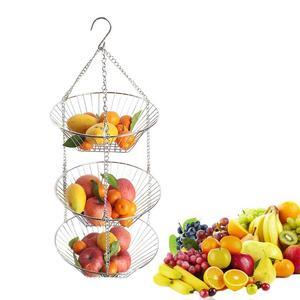 Hanging Fruit Basket Stainless