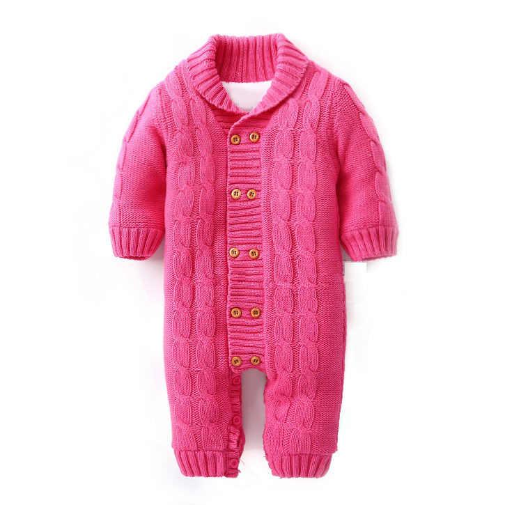 4a65f4ae08845 ... Plus Velvet Winter Warm Baby Romper Brand Cotton Newborn Baby Boy  Winter Rompers For 0- ...