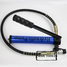 Гидравлический ручной насос алюминиевый сплав 2,2 кг CP-180AL