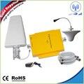 1 conjunto 65dB de sinal celular impulsionador LTE repetidor 4 G amplificador 2600 MHz ou 700 MHz celular amplificador 3 G 4 G telefone celular kit de reforço