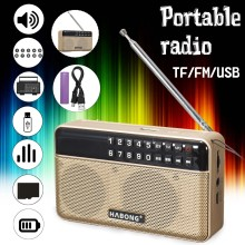 Wireless bluetooth speaker FM/TF/USB Radio Portable Speaker Radio Mp3 Play Sound recording(China)