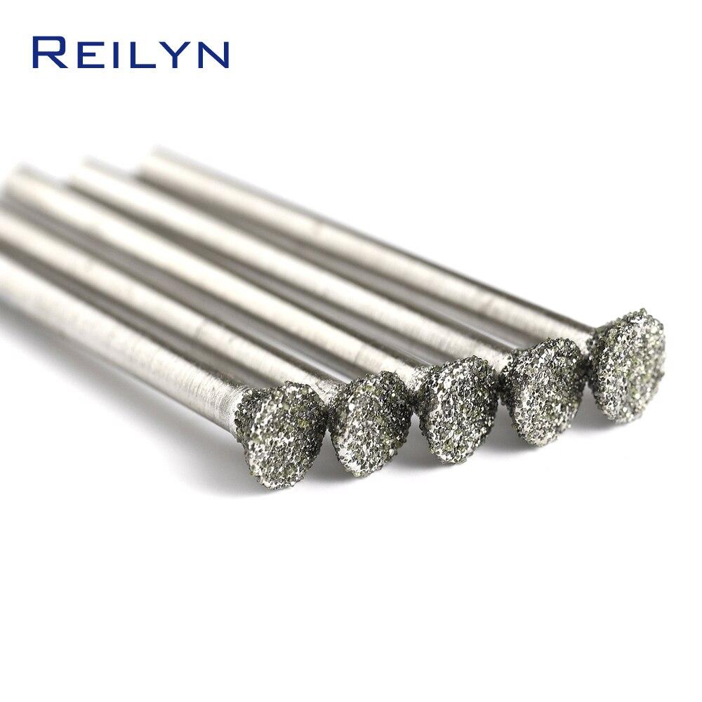 #60 C2 Type Coarse Sand Roller Emergy Diamond Grinding Burr Abrasive Bits Grinding Needle Die Grinder/dremel/rotary Tools