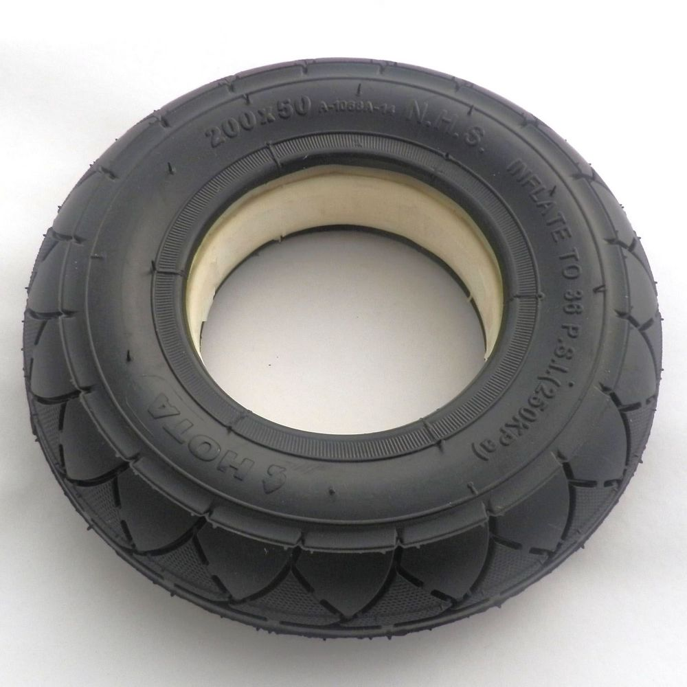 Us 28 45 5 Off Solid Tubeless Tire Wheel Tyre 200x50 8