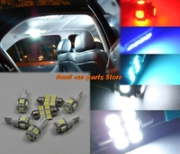 10 pcs Bright Ice Blue LED Lights Interior Package Kit For 2007-2011 Toyota Camry