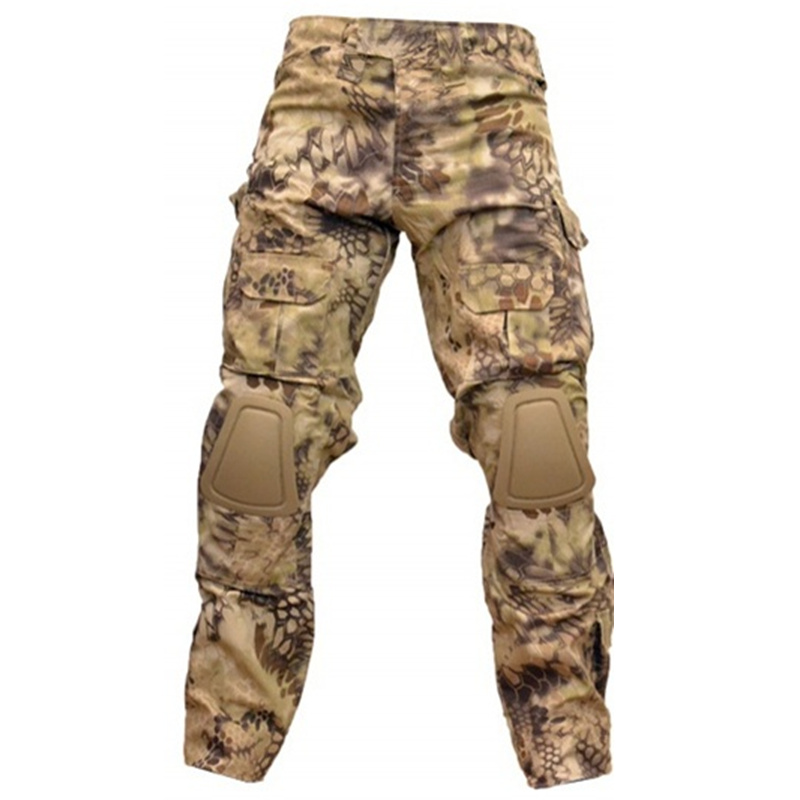 CQC Gen2 Tactical Pants Cargo Men Military Army Hunting Airsoft Paintball Camouflage BDU Combat Pants With Knee Pads HLD emerson g2 tactical pants with knee pads airsoft combat training military trousers bdu army airsoft paintball pants em8525
