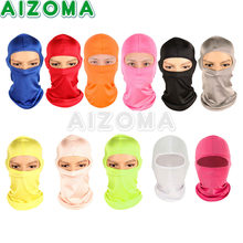 LOW PRICE Motorcycle Windproof Ski Neck Protecting Outdoor Balaclava Full Face Warming Mask Ultra Thin Breathable Safety Guard(China)