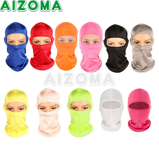 LOW PRICE Motorcycle Windproof Ski Neck Protecting Outdoor  Balaclava Full Face Warming Mask Ultra Thin Breathable Safety Guard