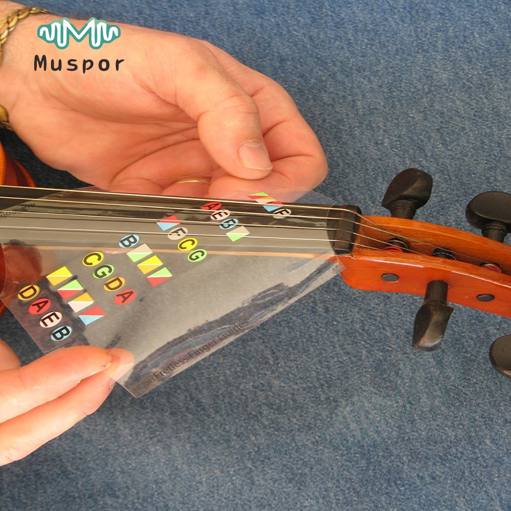 Responsible 2pcs Violin Finger Position Marker Tapes Fingerboard Fretboard Stickers Stringed Instruments