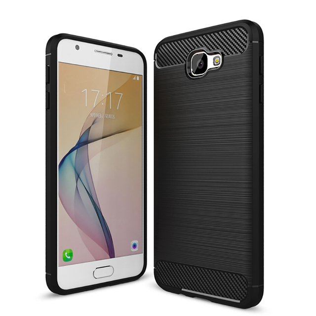 the latest 208f1 89886 US $2.59 20% OFF|For samsung Galaxy J7 Prime Case Brushed Silicone Case J7  Prime ON7 Cover Back Soft TPU Phone Case Cover for Samsung J7 prime-in ...