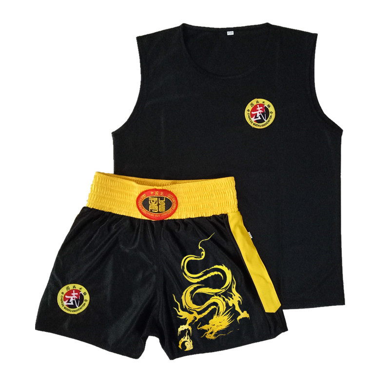 Sleeveless Boys Girls Clothes Elastic Waist Children Clothing Boxing Uniform Stage Performance Costume Children Clothing Sets