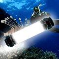 Отдых на природе Света Водонепроницаемый LED 360 Люмен Кемпинг Лампы Открытый Фонарь, туризм Аварийного Безопасности Дайвинг Фонарик Подводные