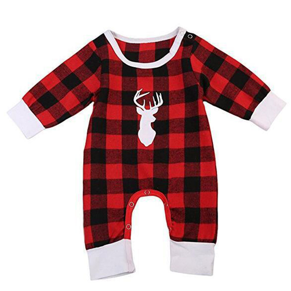 Simple Kids Romper Five Sizes Gifts Christmas Supply Children Onesie Baby Clothes