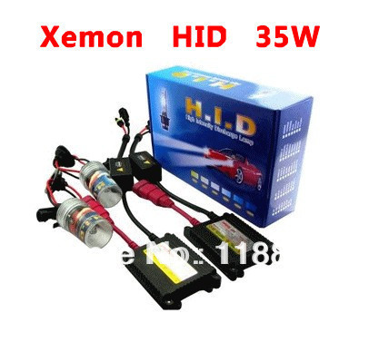 HID xenon lights kit H1 H3 H7 H7R H8 H9 H10 H11 H16 HB3 HB4 35 w slim ballast is 6000K 8000K 10000K 12000K Free shipping