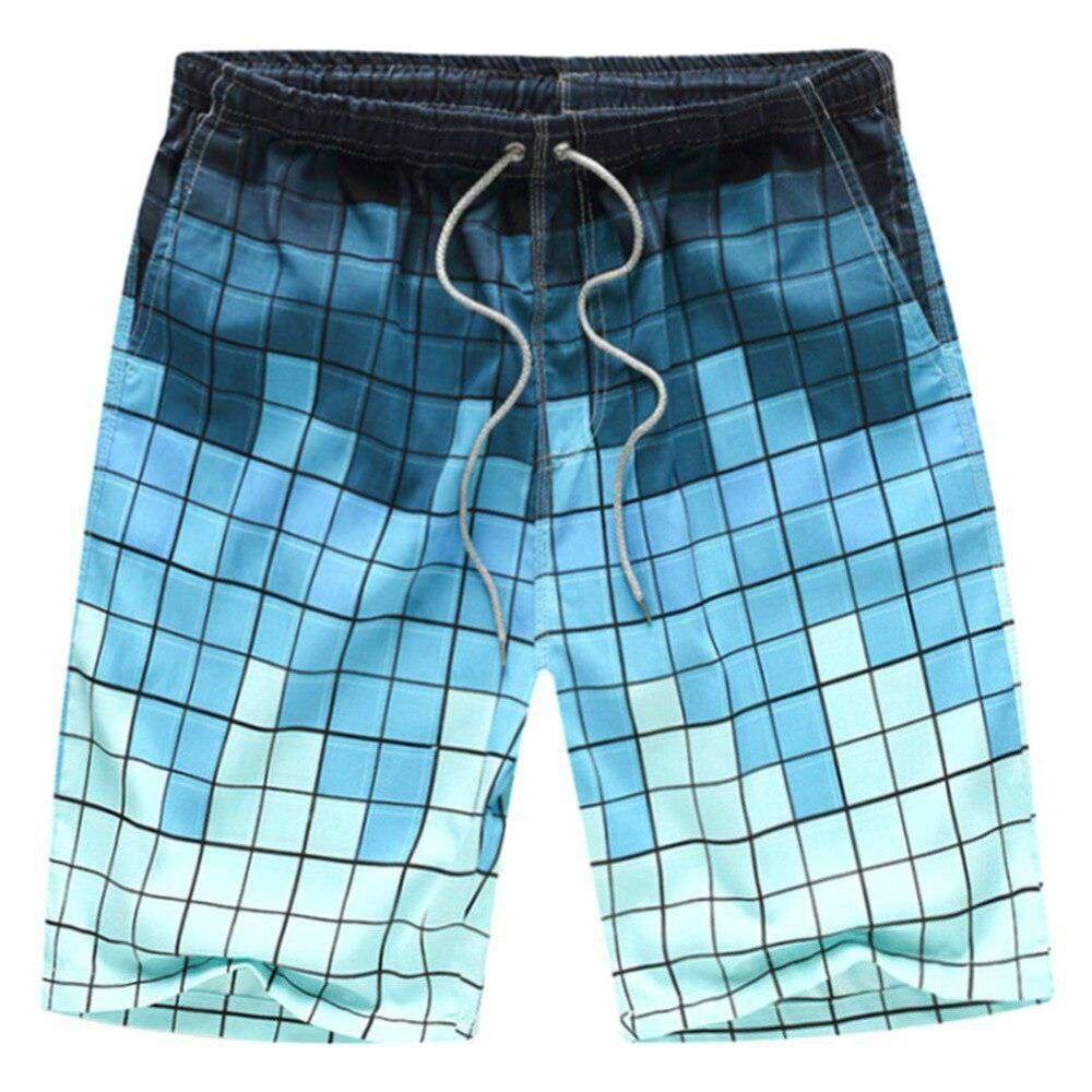 Summer Hot Sale Men Beach Shorts Quick Dry Printing Board Shorts Men Casual Slim Boxers Bottoms Men Short Pants