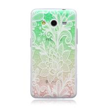 HATOLY For Samsung Galaxy Core 2 Case G355H Ultra Thin Phone Case Relief Painting Slim Soft