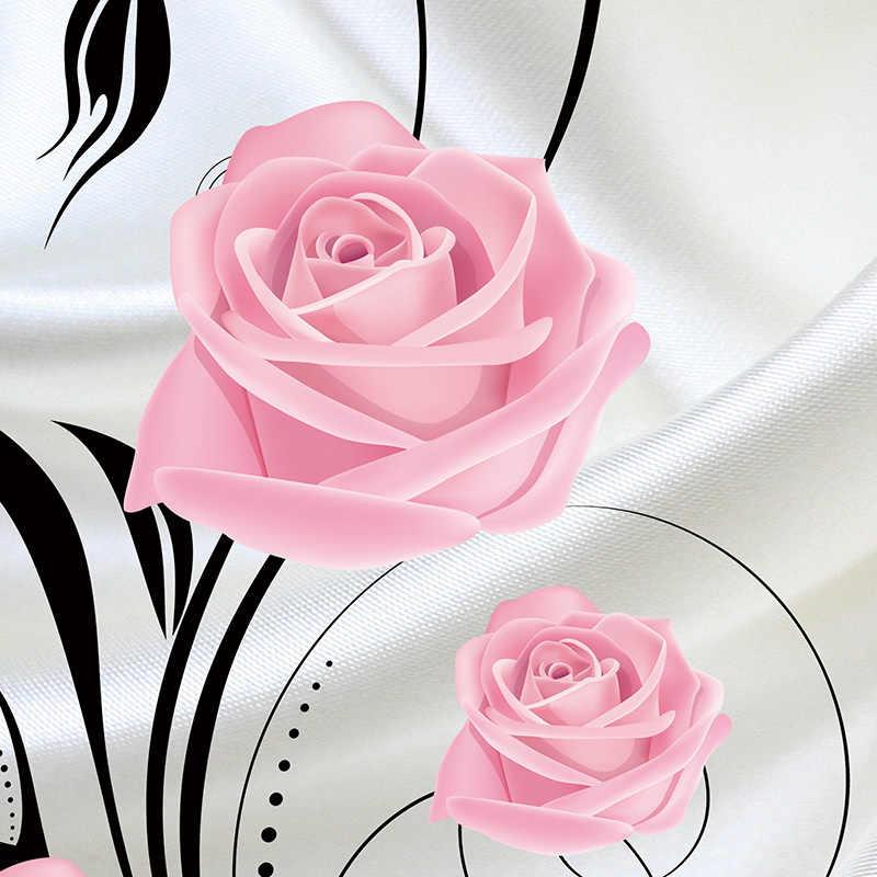 Disesuaikan 3D Bunga Foto Wallpaper Ruang Tamu Kamar Tidur Sofa TV Latar Belakang Wallpaper Bunga Mawar.jpg q50