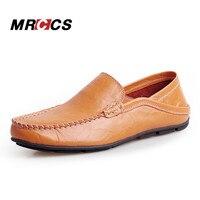 MRCCS Pelle Naturale Morbido Mocassino, Scarpe Casual Da uomo, Design Semplice Guida A Piedi Scarpe, Padre E Figlio mocassini Pantofola