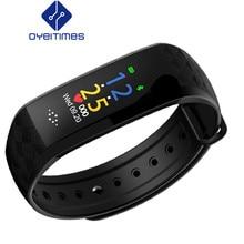 0099af61cb4 OYEITIMES Banda Inteligente Rastreador Relógio Do Esporte Da Aptidão M2P HR  BP Pulseira Inteligente de Monitoramento da Qualidad.