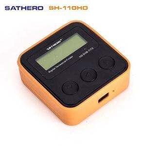 Image 1 - SATHERO SH 110HD lądowych detektor miernik sygnału DVB T DVB T2 cyfrowa telewizja hd wykrywacz sygnału lepiej satlink ws 6905