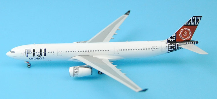 new Fine Phoenix 1: 400 11242 Fiji Airways A330-300 DQ-FJW Alloy aircraft model Collection model Holiday gifts fine phoenix 1 400 11198 thai airways b787 8 hs tqb alloy aircraft model collection model holiday gifts