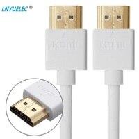HDMI كابل مطلية بالذهب موصل كابل موصل ذكر HDMI داعم محول إيثرنت ثلاثية الأبعاد ل HDTV رصد العارض الخائن الجلاد 1080P|كابلات HDMI|الأجهزة الإلكترونية الاستهلاكية -