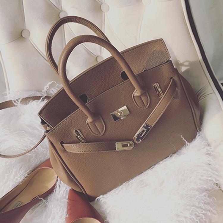New popular European and American fashion brand platinum bag handbag shoulder cross body big bag юбка european and american big q002592 2015