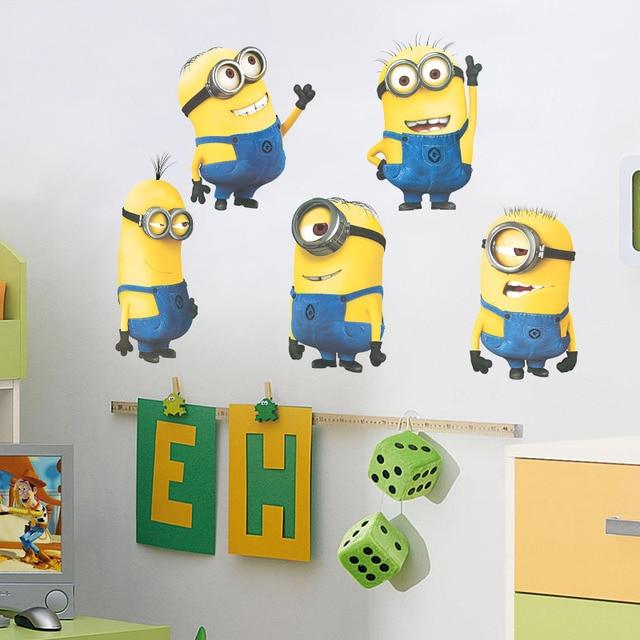 Minion Wall Decor aliexpress : buy minions minion wall stickers wall stickers