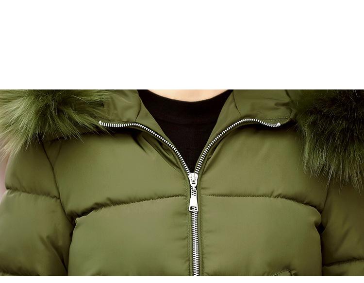 Short Women Basic Jackets Streetwear Warm Casual Coats Female Parka Cotton Hooded Winter Women Jacket Coat Outwear 19 DR114 13