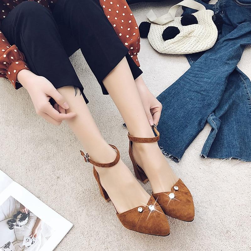 Mujeres Metal De negro marrón Diamantes Mujer Imitación Las Sexy Sandalias Zapatos Beige C0259 Moda Nueva Alto Decorativo Tacón E1FqgUw