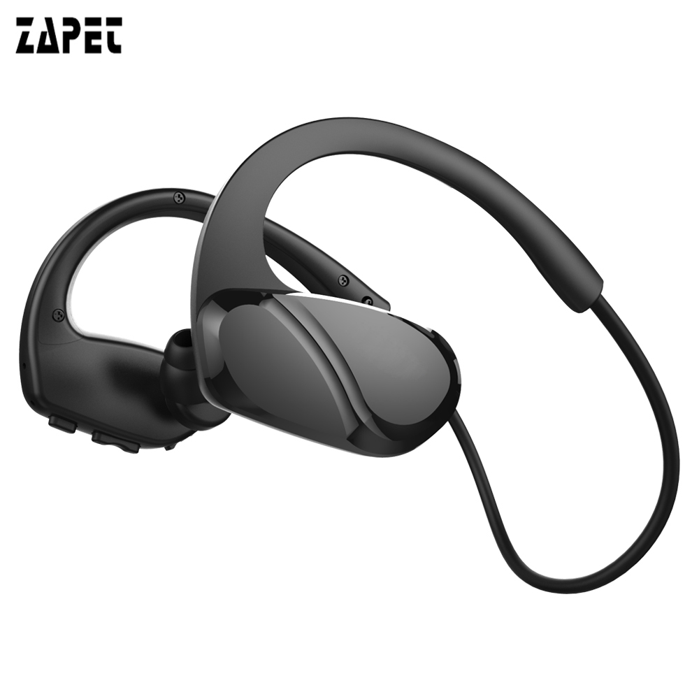 ZAPET H6 bluetooth headphones Deep bass wireless headphone sports bass bluetooth earphone with mic for phone iPhone xiaomi wireless magnetic bluetooth earphone s8 wireless headphones sports bass bluetooth headset with mic for phone iphone xiaomi