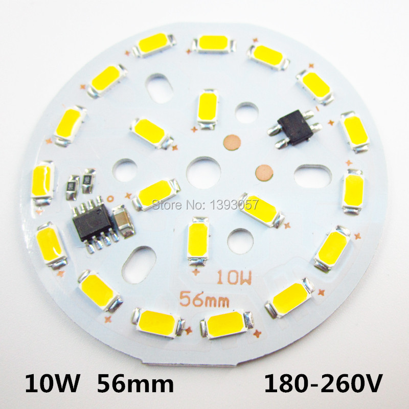 10w 56mm led Lamp plate integrated driver 5730 aluminum plate can direct connect with AC220v For lamp lighting le32a500g crh led driver v1 4 booster direct replacement used disassemble
