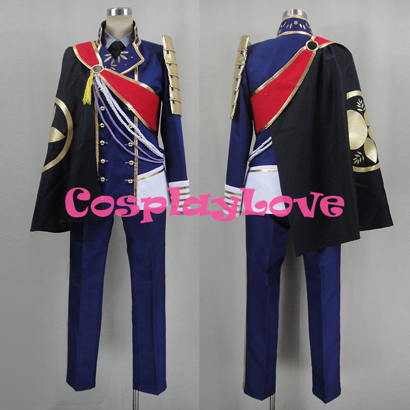 Custom Made Japanese Game Touken Ranbu Online Ichigo Hitofuri Uniform Cosplay Costume Christmas Halloween High Quality Halloween