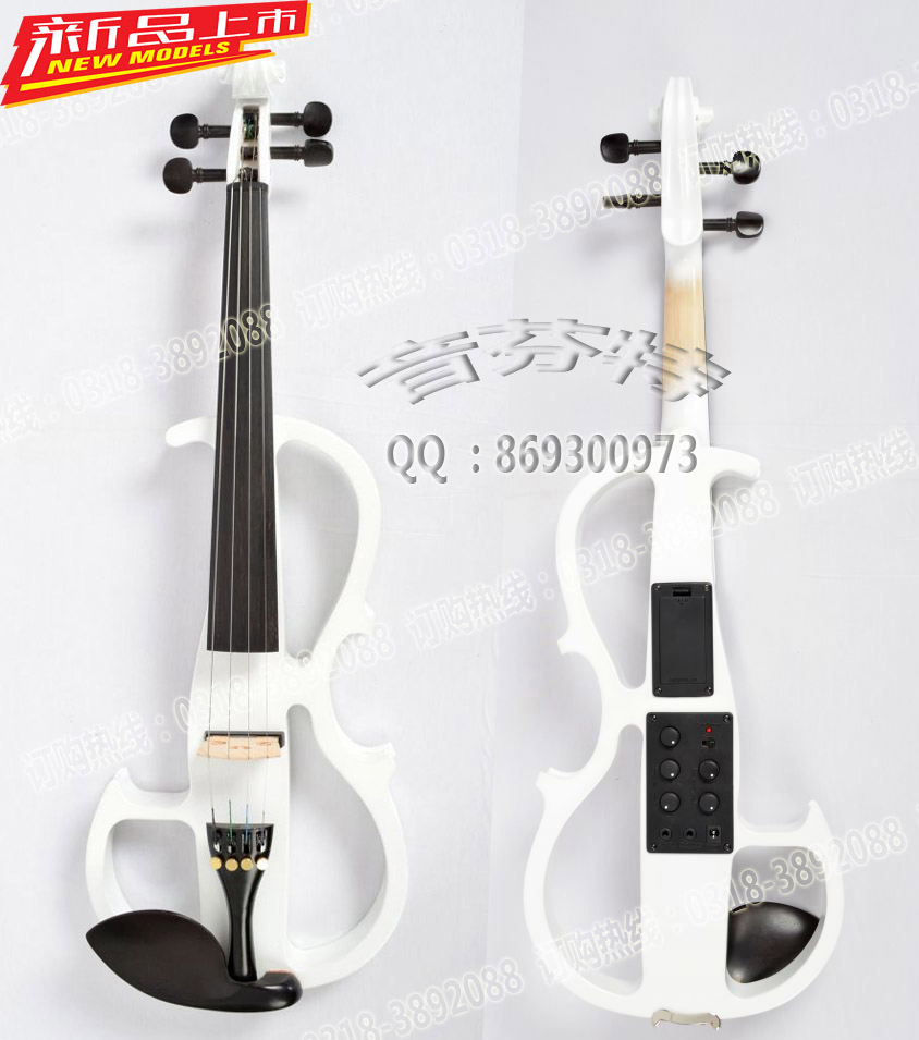 4 string electro acoustic violin white pick up whole high quality measurement pickup