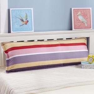 Image 2 - すべての綿の枕ケース、ダブル枕ケース、1.2m1。5メートル、肥厚ツイル印刷綿クリップ、カップルのカップル枕ケース