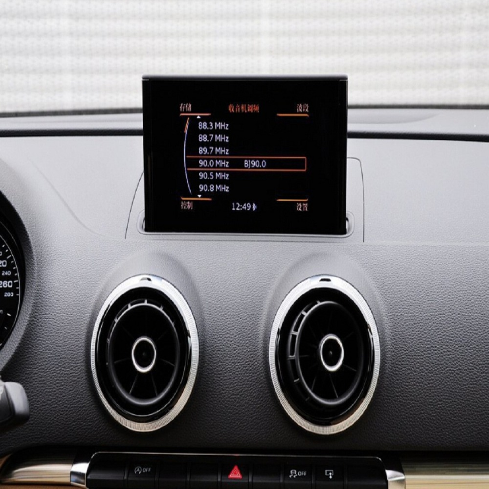 Video Interface With Dynamic Guidelines Parking Sensors Displayed For New AUDI <font><b>A3</b></font> A4 A6 Q7 After 2015 MIB System