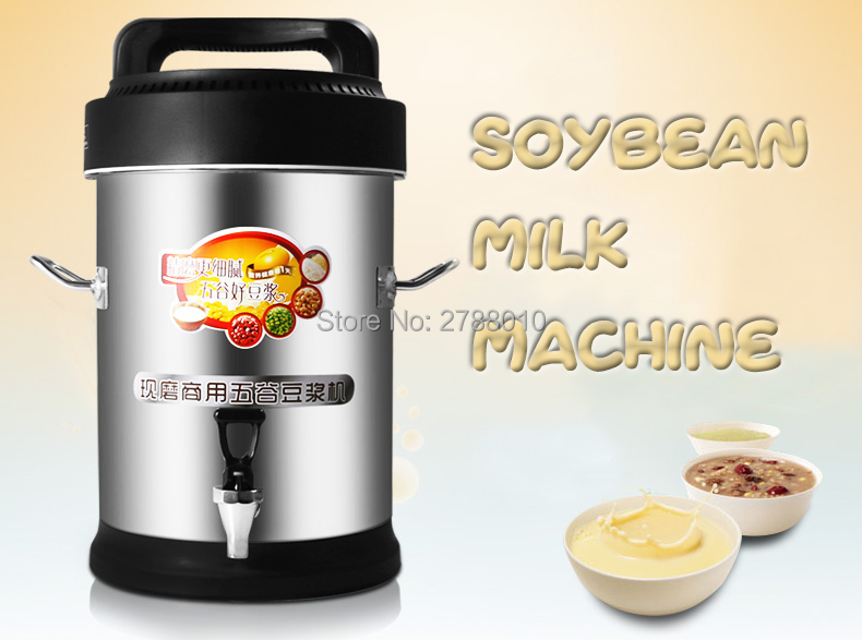 Commercial Soybean Milk Maker Full-automatic Soybean Milk Machine 10L Large Capacity Soymilk Maker YD30 soybean milk machine household soymilk machine multifunctional automatic intelligent soybean milk machine
