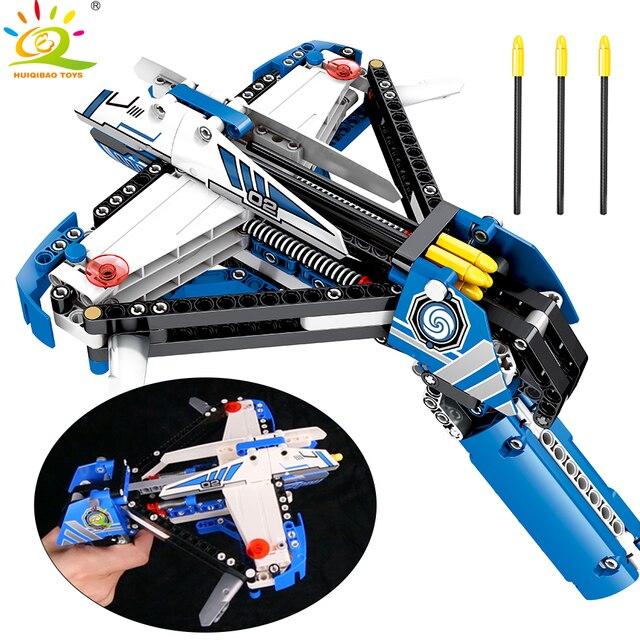 322 pcs Tiro Técnica de Blocos de Construção Compatíveis Gun man figuras Bricks Brinquedos para crianças