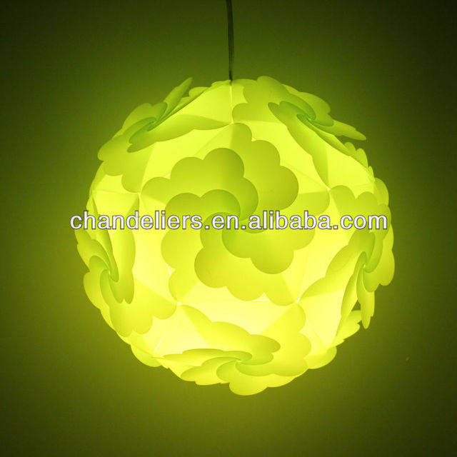 Popular with European Flower Shade IQ Jigsaw L& Light pendant lights DIY Puzzle L& l&shade making & Popular with European Flower Shade IQ Jigsaw Lamp Light pendant ...