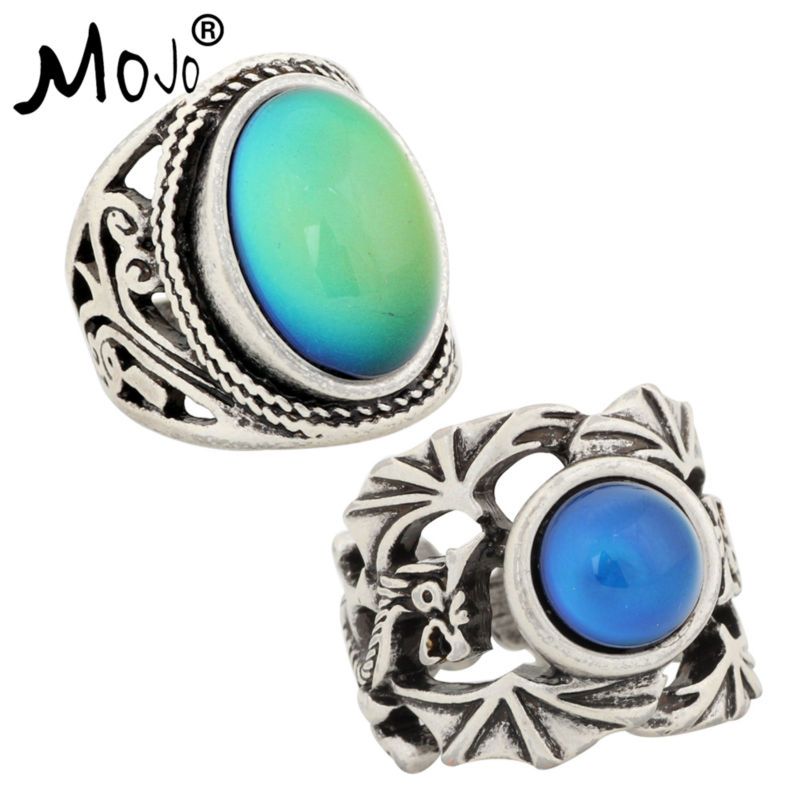 Ring-Set Jewelry Wedding-Rings Fingers Strength Changes-Color Vintage Women for RS019-040